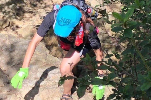 【葛城山】鬼滅の刃・聖地巡礼地から櫛羅の滝コースでススキ満開の山頂へ♪