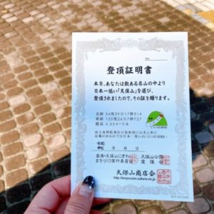 【天保山】標高わずか4.53m!日本で〇番目に低い二等三角点の山!