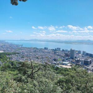 【長等山】お手軽低山からマザーレイクが丸見え!絶景の長等山テラス♪